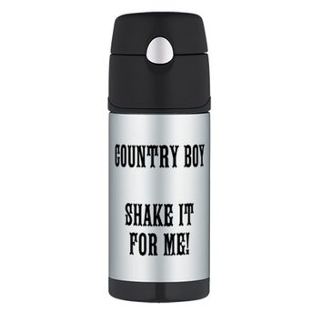 COUNTRY BOY SHAKE IT FOR ME! Thermos® Bottle (12oz