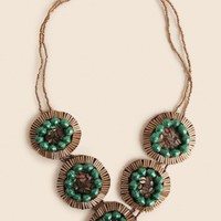 Emerald City Necklace By 31 Bits