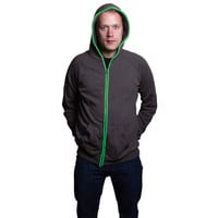 electricMVMT: Deleware St Hoodie Gray Green, at 28% off!