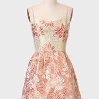Whimsical Wonders Brocade Dress