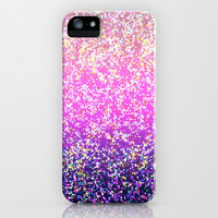 Glitter Graphic Background G104 iPhone & iPod Case by MedusArt