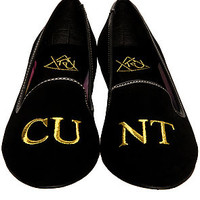 The LAVi$H CU-NT Shoe in Black (Exclusive)