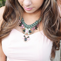 Sweet As Honey Necklace: Multi