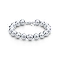 Tiffany & Co. - Bead bracelet in sterling silver.