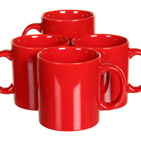 Waechtersbach Set of 4 Mugs Fun Factory