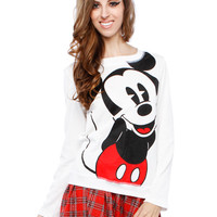 BIG MICKEY MOUSE GRAPHIC TOP
