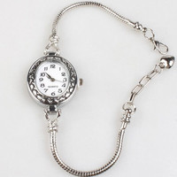 Ladies Watch with Bracelet for European Beads