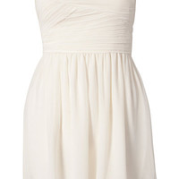 CHIFFON BANDEAU DRESS