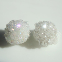 Celestite Crystal Cluster Pair