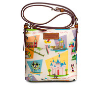 Disneyland Letter Carrier Bag by Dooney & Bourke - Retro