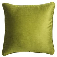 New Green Velvet Pillow