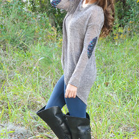Hide And Seek Sweater: Grey