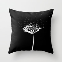Make a Wish  Throw Pillow by Lauren Lee Designs