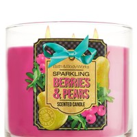 14.5 oz. 3-Wick Candle Sparkling Berries & Pears