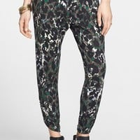 Lily White Ruched Slouchy Pants (Juniors) | Nordstrom