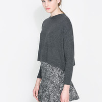 SHORT ANGORA JUMPER