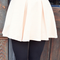 Couldn't Be Cuter Skirt: Cream
