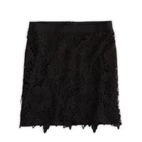 AE LACE OVERLAY MINI SKIRT