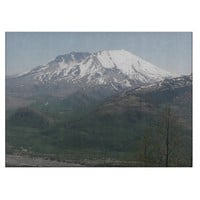 Mount St Helens Cutting Board