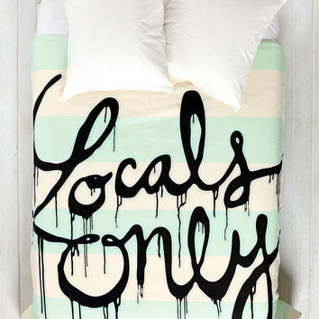 Wesley Bird For DENY Locals Only Duvet Cover