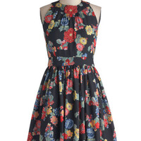 Prized Perennials Dress in Black | Mod Retro Vintage Dresses | ModCloth.com