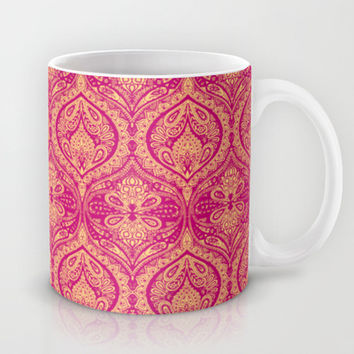 Simple Ogee Pink Mug by Aimee St Hill