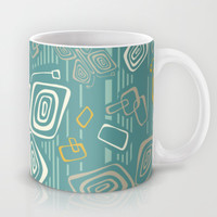 Tiki Time B-Fly Mug by Heather Dutton