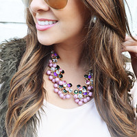 Pops Of Bubblegum Necklace: Multi