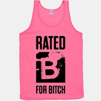 Rated B for Bitch