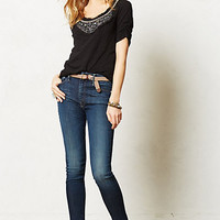 Mother Looker High-Waist Ankle Jeans