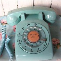 Vintage Dial Phone by junktojoyshop on Etsy
