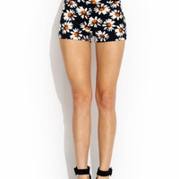 Daisy-Days-High-Waisted-Shorts BLACKORG - GoJane.com