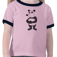 Panda bear cartoon T-shirt