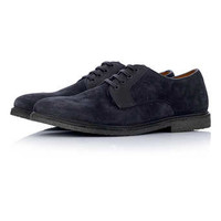 Navy Suede Lace Up Shoes - Casual Shoes - Shoes and Accessories