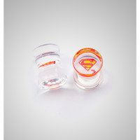 Superman Clear Plug Set