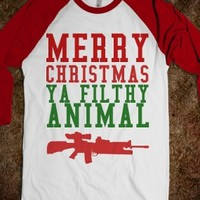 Merry Christmas Ya Filthy Animal Home Alone Shirt