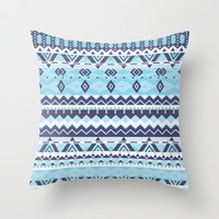 Mix #529 Throw Pillow by Ornaart