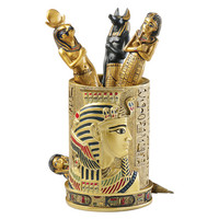 Egyptian Pharaoh Pen Vessel - QL1244 - Design Toscano