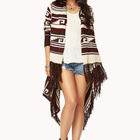Folk Girl Fringed Cardigan
