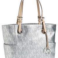 Jet Set - Metallic Signature Tote | MICHAEL by Michael Kors | Nordstrom