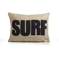 Surf Pillow - Oatmeal/Charcoal