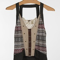 Gimmicks by BKE Pieced Sweater Vest