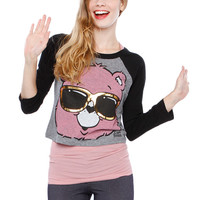 CARE BEARS GRAPHIC TOP