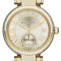 Michael Kors 'Skylar' Crystal Bezel Watch