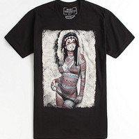 Riot Society Painted Girl Tee at PacSun.com