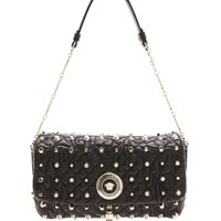 Studded Quilted Leather Bag