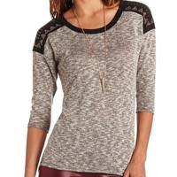 EMBELLISHED SHOULDER HACCI TUNIC
