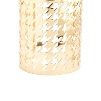 HOUNDSTOOTH CUT-OUT CUFF