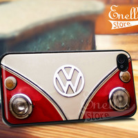 VW Mini Bus - iPhone 4/4s/5/5s/5c Case - Samsung Galaxy S3/S4 - Blackberry z10 Case - Black or White