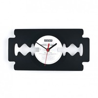 """Razor"" Wall Clock from Upstairs Studio 